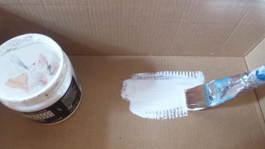Paint your shoe box