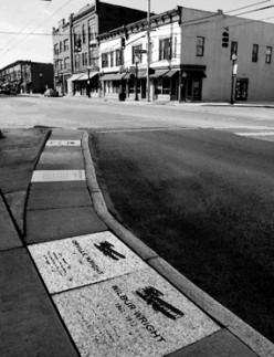 Wright-Dunbar Inc. Walk of Fame, Wright-Dunbar Business District.