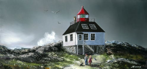 Image: Peggy's Cove Original Lighthouse