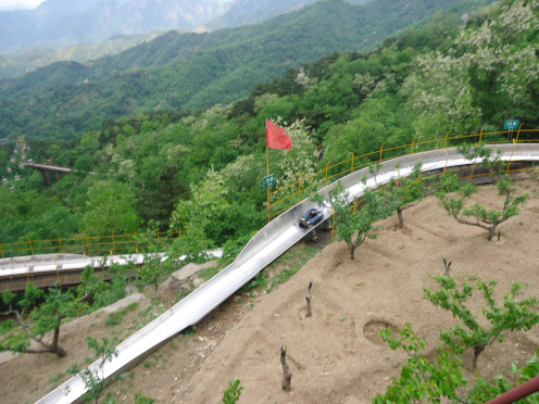 Great Wall Toboggan - fun!!