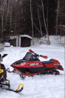 Snowmobile Water Crossing - Sport or Insanity?