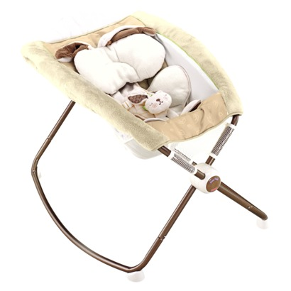 Fisher-Price SnugaBunny Newborn Rock 'n Play Soother