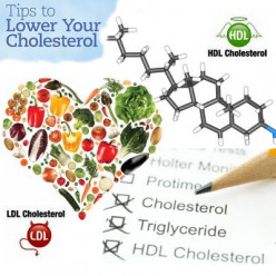 Tips on how to reduce bad cholesterol