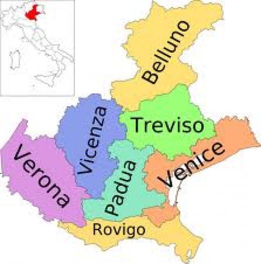 Venice and The Veneto Region
