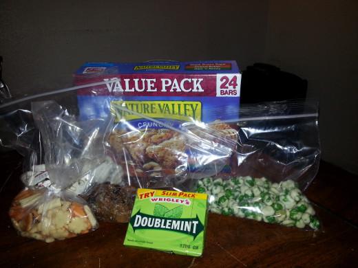 Individual snacks.
