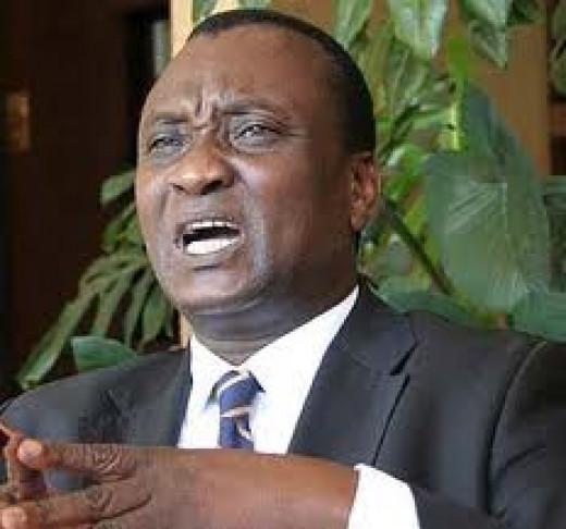 Hon. Gitobu Imanyara( Human Rights Lawyer, Former MP)