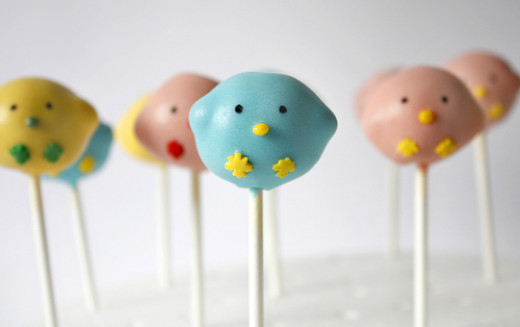 Chick Easter Cake Pops