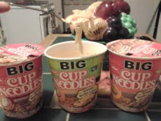 Big Cup Noodles, Made By Nissin