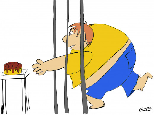 Losing weight doesn't mean you have to feel a prisoner of your eating habits