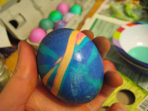 Rubber Band Easter Egg