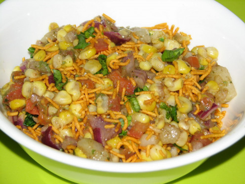 Corn-bhel-recipe