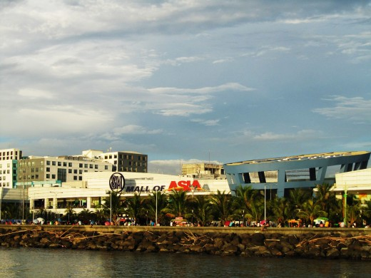 The Mall of Asia by Manila Bay