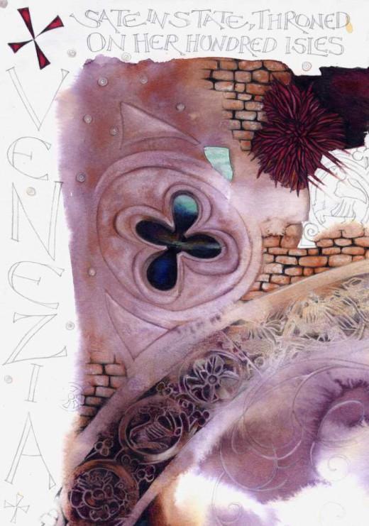 """Venice Texture 2"" by Helen Lush"