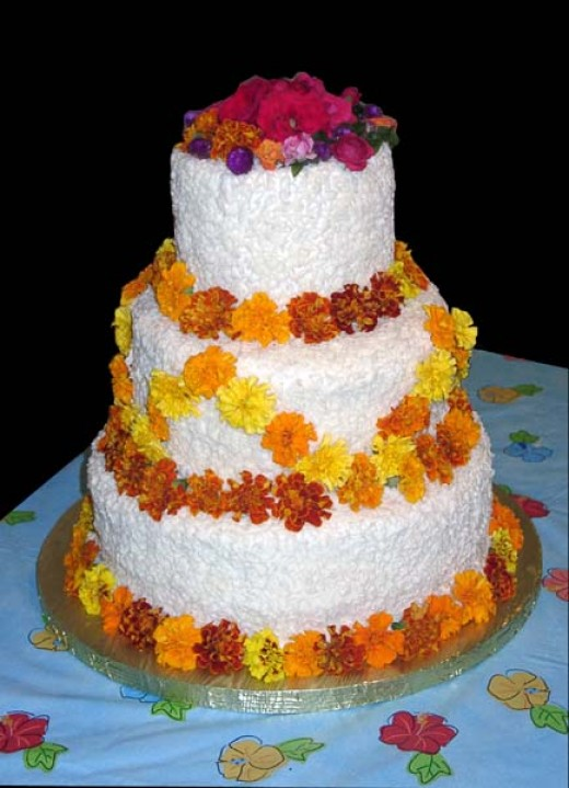 Candied edible flowers make wonderful garnishments.