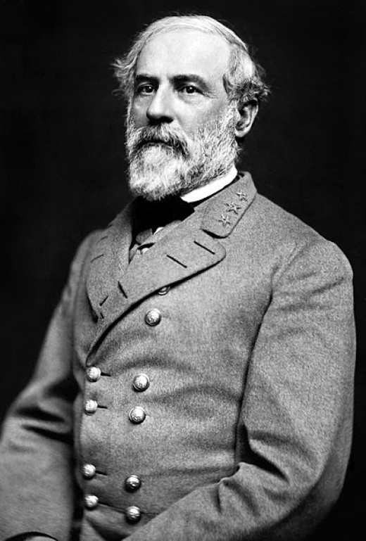 General Robert E. Lee, commander of the Confederate forces at Antietam.