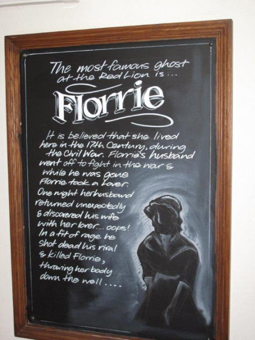 Ghost of Florrie - Red Lion Avebury