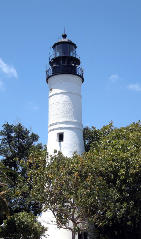 For a small fee, you can visit the old Key West Lighthouse and caretaker's home.