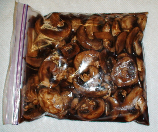 Marinate the mushrooms ahead of time for more flavor.