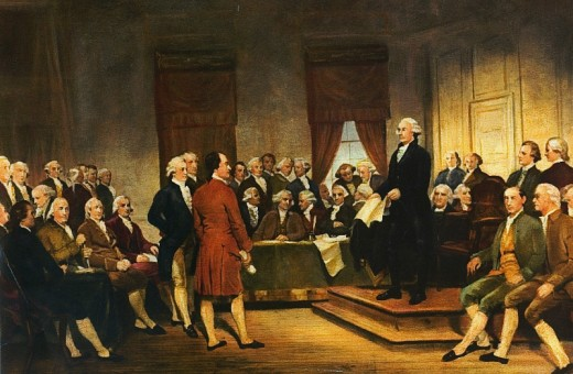 Washington at Constitutional Convention of 1787 by Junius Brutus Stearns, 1856