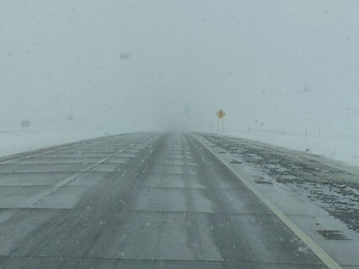 Driving in a Blizzard Can Be Difficult--Driving in South Dakota