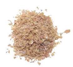 Wheat Bran, an excellent source of fiber.