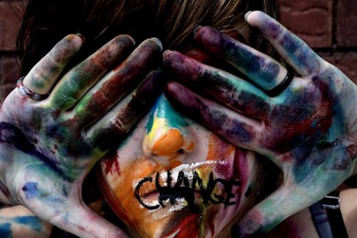 Change from Doe. Deer Source: flickr.com