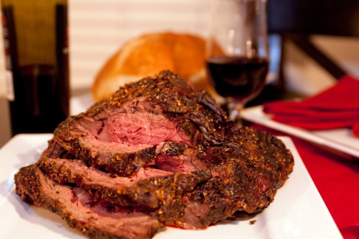 Try some bison prime rib!