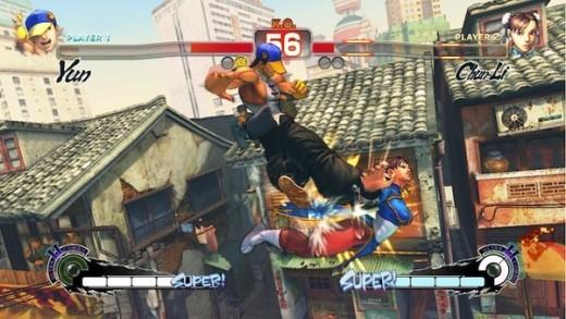 Yeah...Chun-Li took a beating