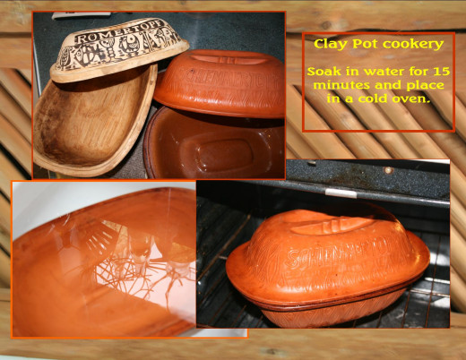 Clay pot cooking keeps all the flavor and nutrition while adding little (if any) fats!