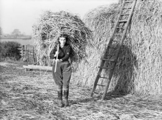 Land Girl in WW2