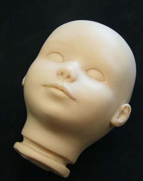 Image: April's Peggy Doll Head