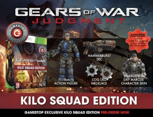 GameStop poster for Gears of War Judgment