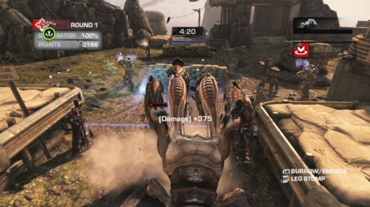 OverRun Locust gameplay (Pictured: Corpser)