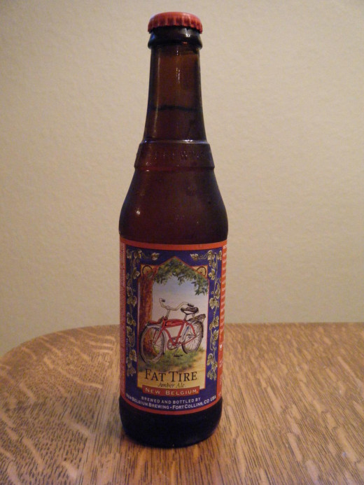 Fat Tire beer - you cannot get it in my state, so my cache is reserved for moments of serious reflection.
