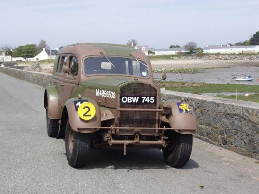 Fordson WOA2 utility vehicle, similar to one driven by Susan Travers