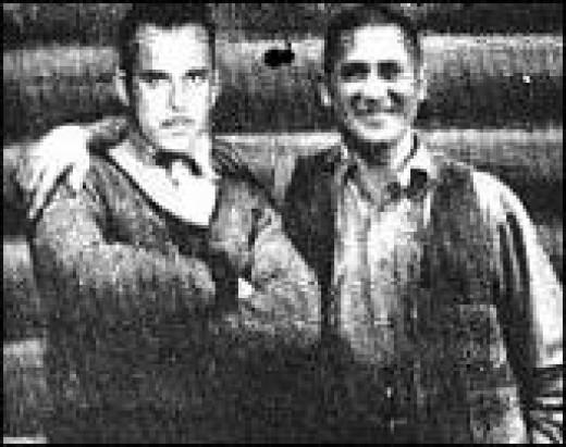 Dillinger and Emil Wanatka, Sr.
