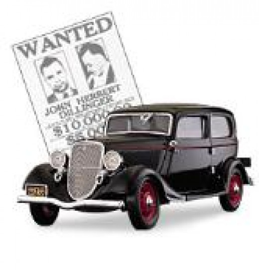 Dillinger's 1933 Ford Deluxe