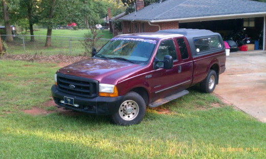 2000 F-350, long bed, extended cab