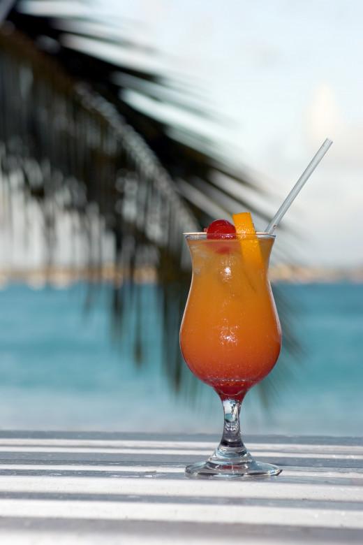Georgia-Florida Frozen Cocktail