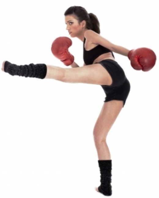 Kick boxing Girl