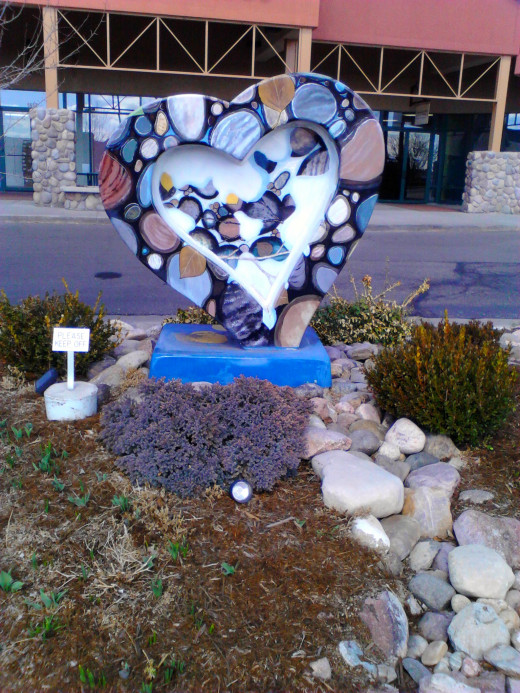 HeART at the Outlets of Loveland near I-25