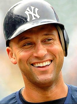 Derek Jeter of the New York Yankees