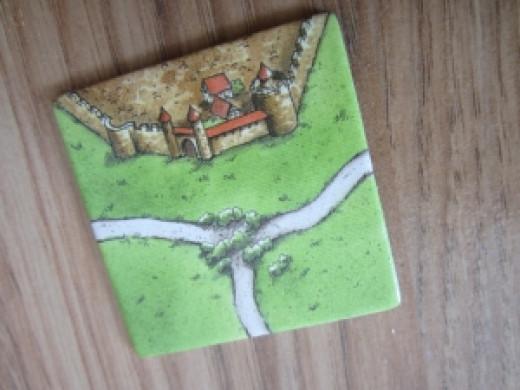 Close up of the tile illustration