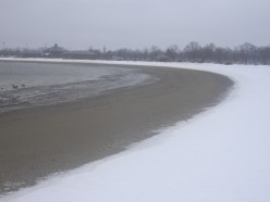 South Boston's Carson Beach in the Winter Time