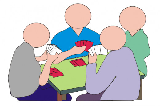 Four Card Players