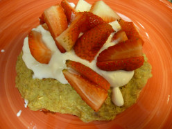 A High Fiber Oatmeal Pancake Recipe