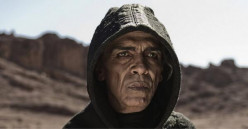 Anyone think the Devil in The Bible Sunday on History Channel looks exactly like Obama?