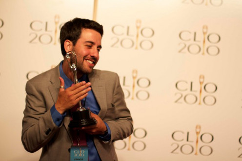 "The ""Oscar"" of the ad world is the Clio Awards. The Clio is the most recognizable of many international advertising awards. It recognizes creative excellence in advertising, design, and communications, across all media."