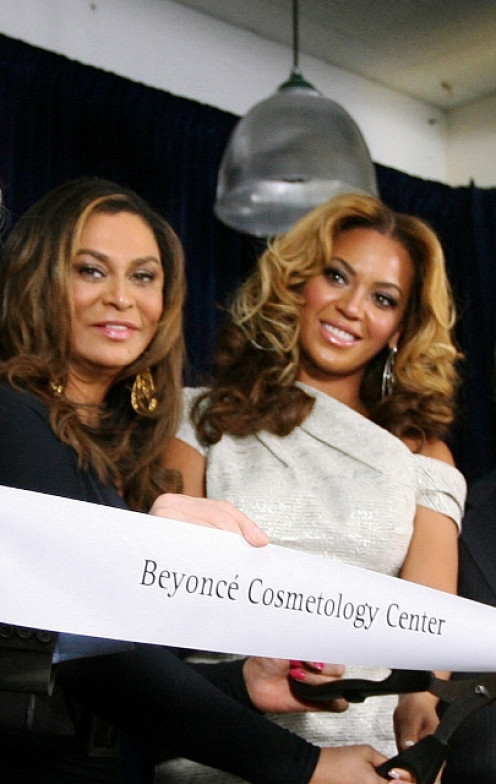 Beauty and fame can do a lot to launch any product, service, or brand. Tina Knowles and Beyoncé are shown above at the opening of the Beyoncé Cosmetology Center, in 2010.