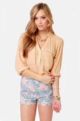 Blouse & Shorts @Lulu's.com